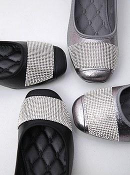 [YY-SH114]珍珠闪亮珠子平底鞋