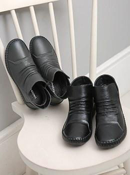 [YD-SH004]牛皮踝靴
