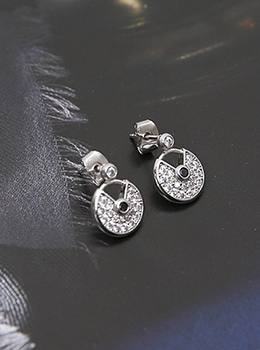 [YY-AC075]圆顶珠子耳环