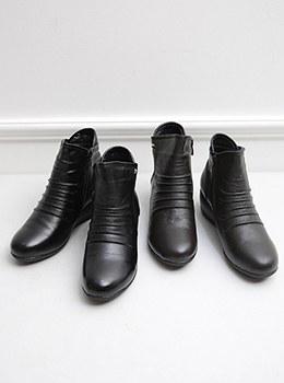 [YD-SH024]金色马蹄靴高跟鞋