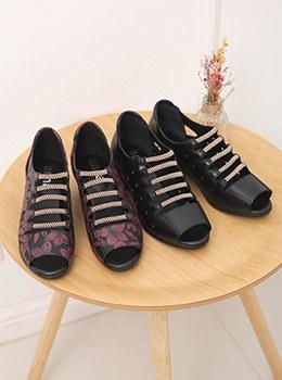 [YY-SH159]绳带凉鞋