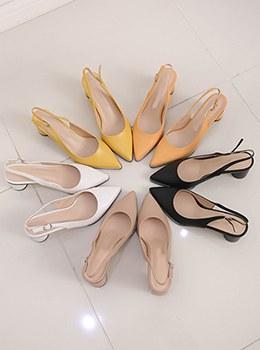 [YY-SH167]圆形鞋跟彩色吊带包