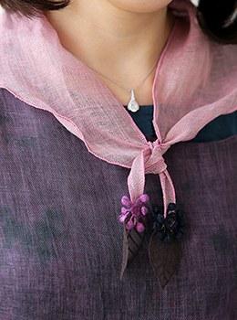 [YY-SC124]叶三角围巾